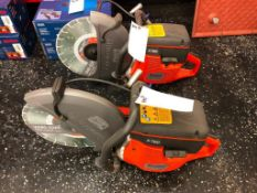 (1) NEW Husqvarna K760 Concrete Saw, 74cc, GHVXS.0745AB. Located in Wildwood, MO.