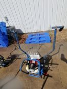 Shockwave Power Screed with Honda GX35 Motor. Serial #5329, 44.3 Hours. Located in Mt. Pleasant, IA