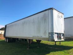 1980 TRA Van Trailer, VIN #011A1SAWV63807. Located in Burlington, IA