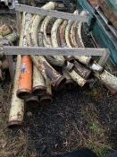 "Assorted sizes of Con Forms Sweeps and Short 5"" Pipe, Located in Fishkill, NY"