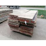 """(26) 24"""" x 8' Damaged Ellis Steel Ply Forms. Located in Mt. Pleasant, IA"""