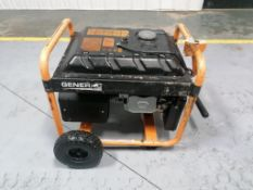 GENERAC GP6500, 754 Hours. Located in Mt. Pleasant, IA