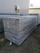 "(20) 36"" x 9' Precise Smooth Aluminum Concrete Forms 6-12 Hole Pattern. Located in Woodbine, IA"