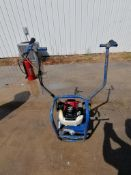 Shockwave Power Screed with Honda GX35 Motor. Serial #5903, 52 Hours. Located in Mt. Pleasant, IA