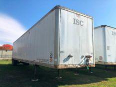 1992 Wabash National 53' Van Trailer, Model SA-102CW, VIN #1JJV532U2NL163979. Located in Burlington,