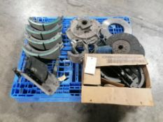 Pallet of Miscellaneous Brake Shoes, Located in Mt. Pleasant, IA.