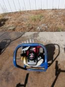 Shockwave Power Screed with Honda GX35 Motor. Serial #5914, 128.3 Hours. Located in Mt. Pleasant,