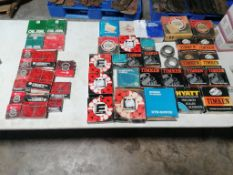 Miscellaneous Oil Seals & Bearings. Located in Mt. Pleasant, IA.