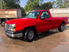 2006 Chevy Pickup Truck, VIN #1GCEC14X06Z133355, 4.3L Engine, Automatic Transmission, Air, Cruise,