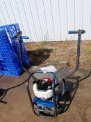 Shockwave Power Screed with Honda GX35 Motor. Serial #2516, 119.4 Hours. Located in Mt. Pleasant,