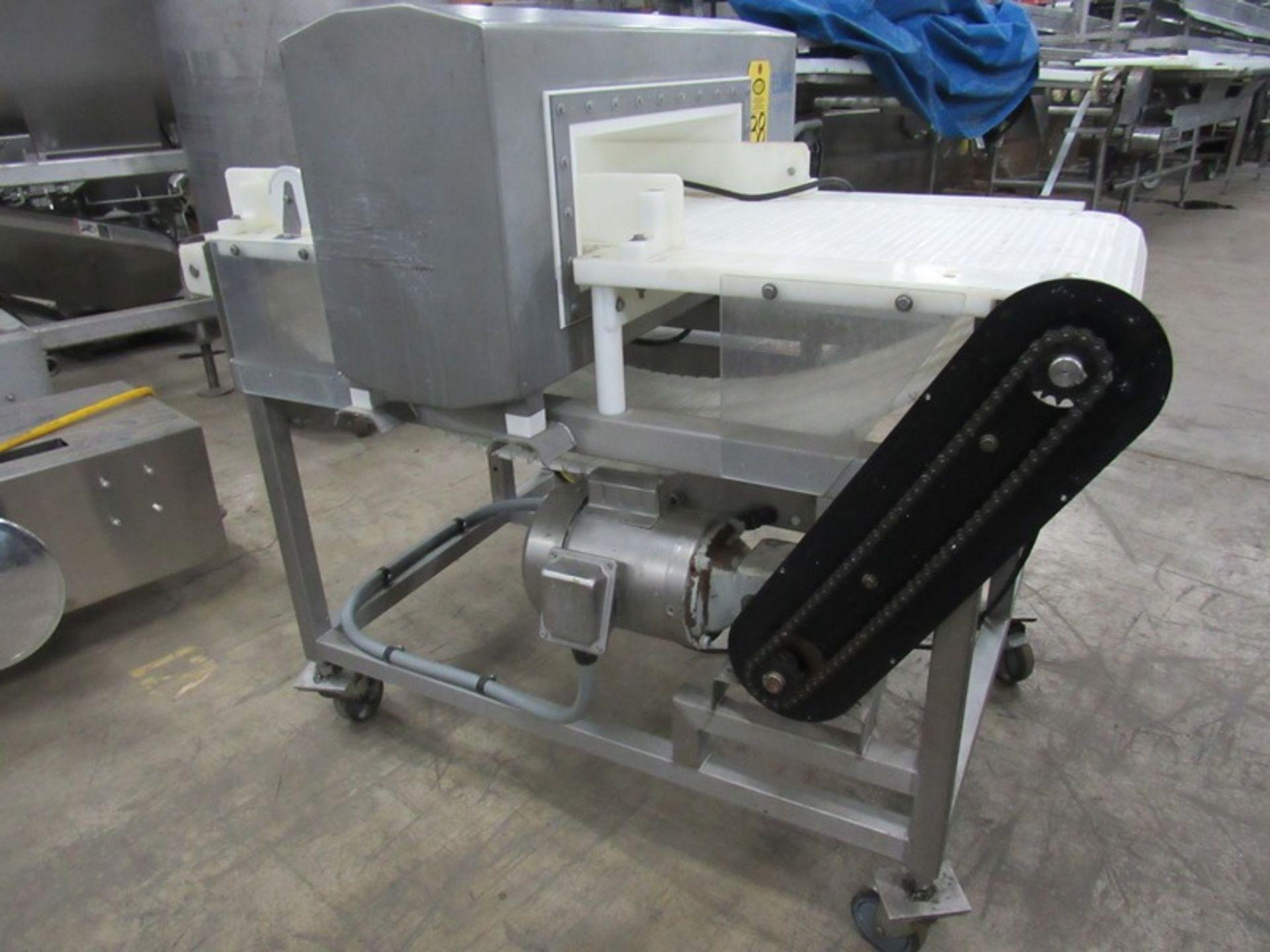 "Lot 38 - Safeline Mdl. 1/3/R/100 300 Stainless Steel Metal Detector, 17 3/4"" W X 6' T apperture, 16"" W X4'"