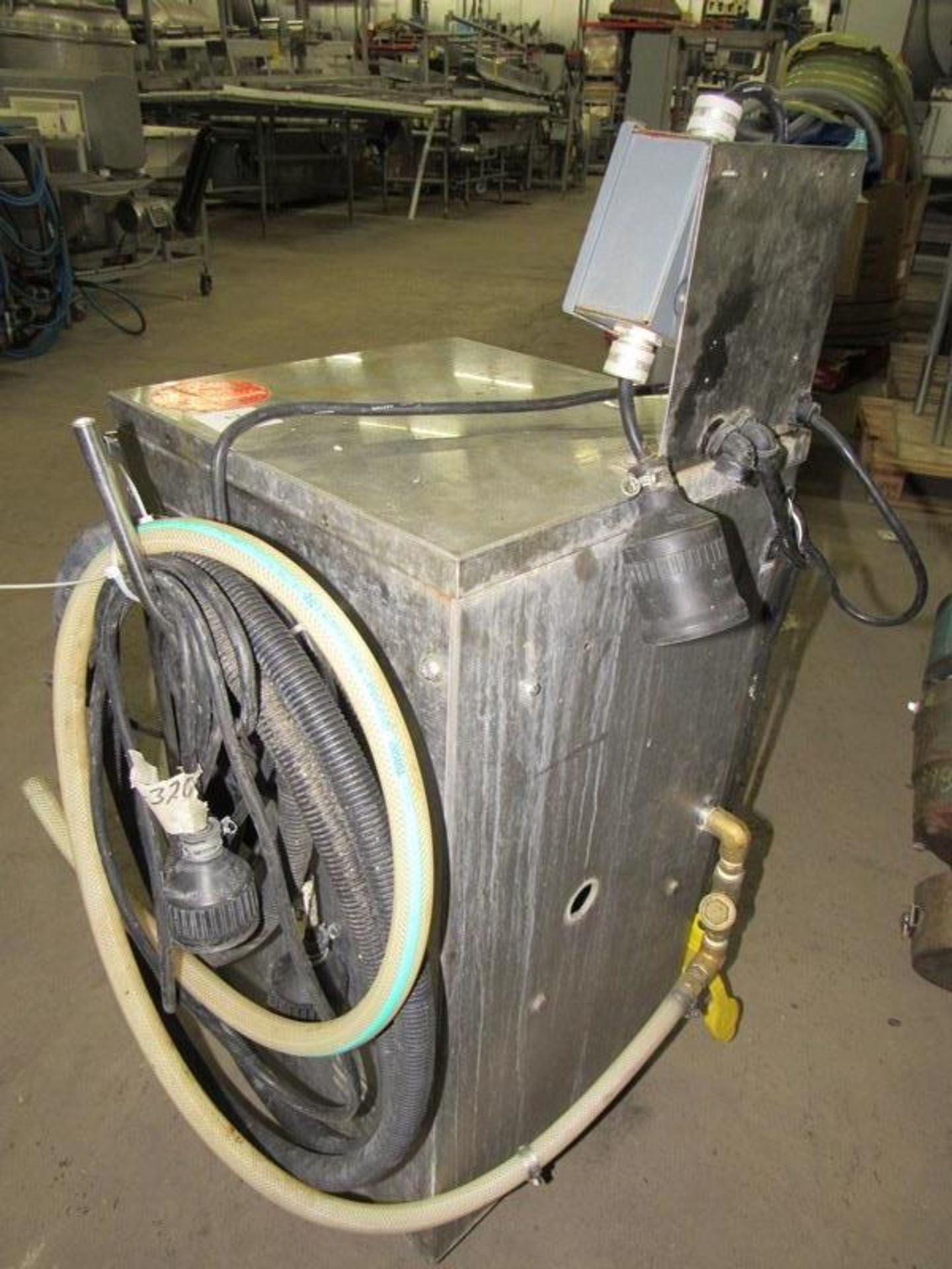 Lot 1 - Showa Jet Complete Meat Washing System Including: Showa Jet Mdl. LK4016-98 Stainless Steel Wash