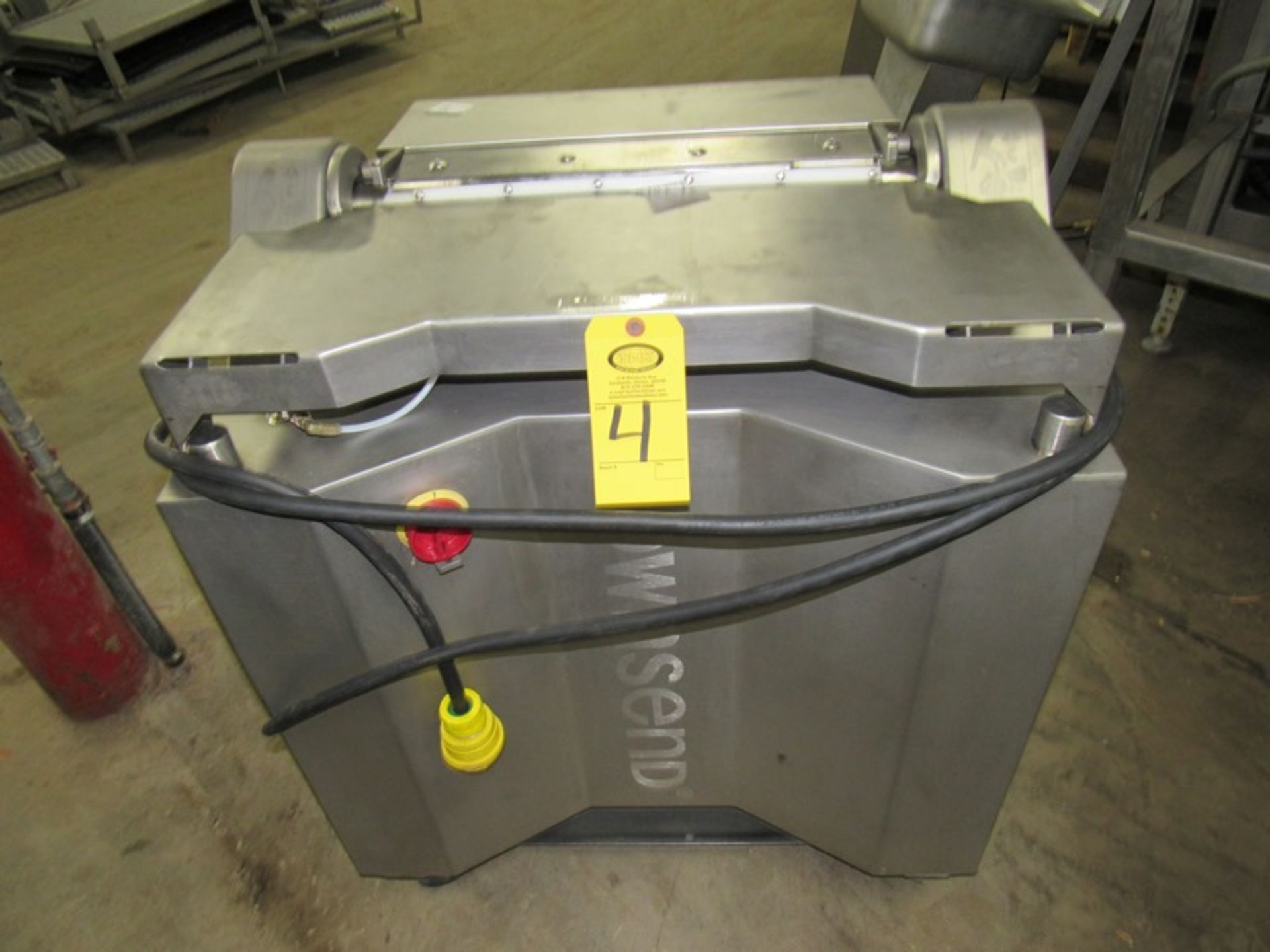 Lot 4 - Townsend Mdl. 7600 Membrane Skinner, w/air assist, 220 volt, 3 phase;*** All Funds Must Be