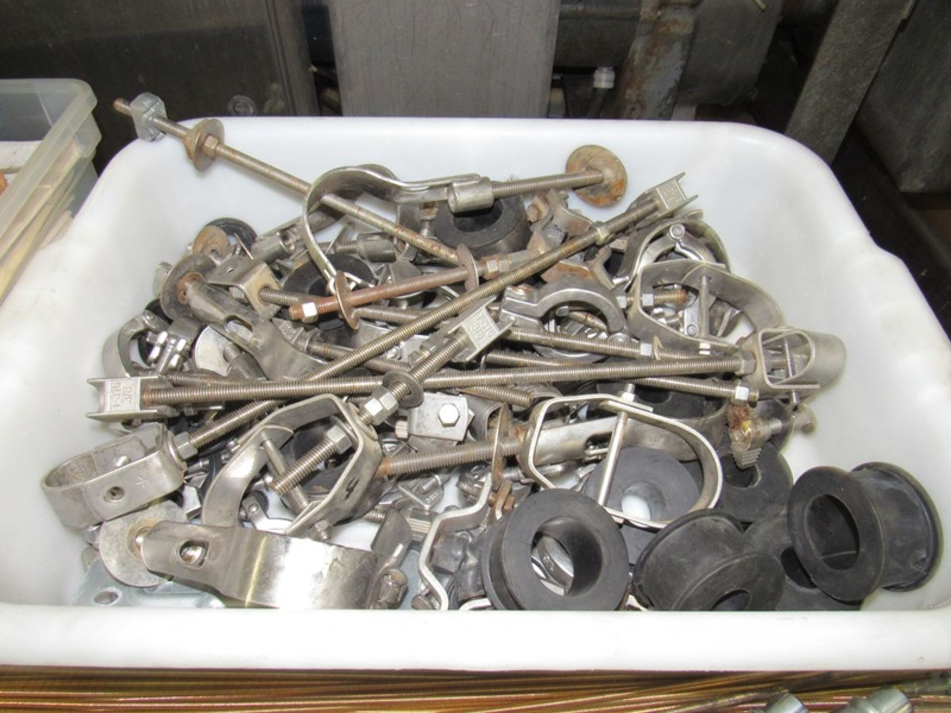 Lot 57 - Lot Bettcher Mdl. UN84 Parts, hoses, knife parts, blades, hangers, sharpeners, etc.;*** All Funds