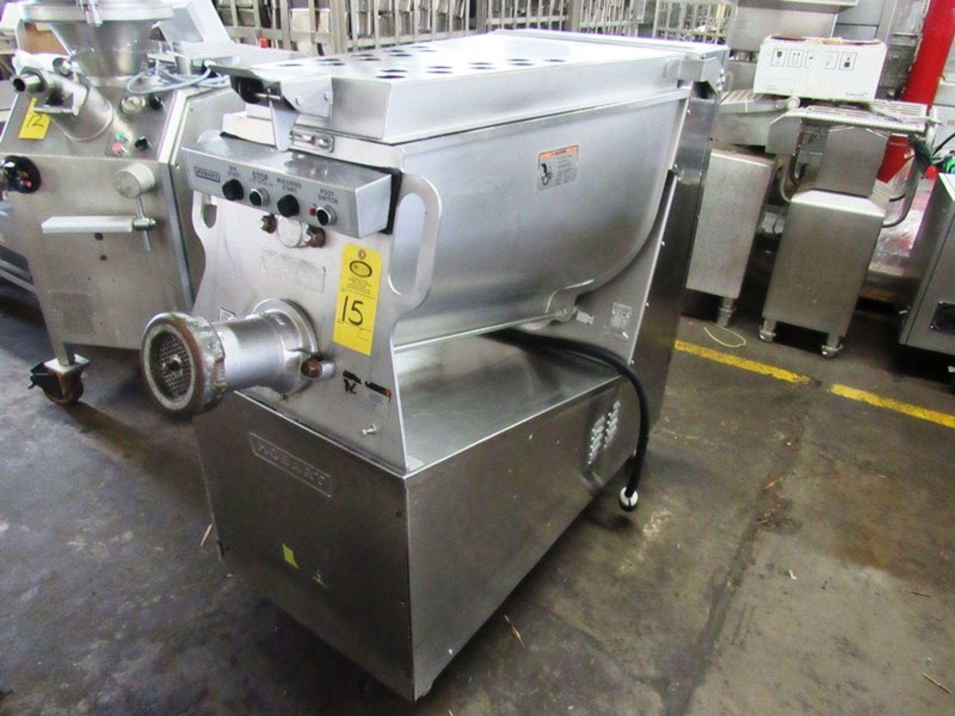 Lot 15 - Hobart Mdl. MG-2032 Portable Mixer/Grinder, # 32 Head, Ser. #27-1139-071, 220 volts