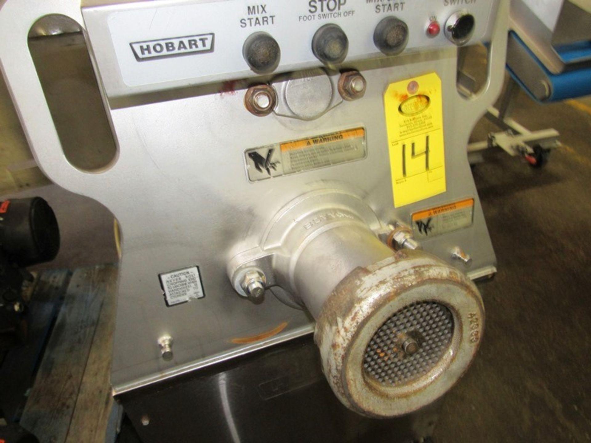 Lot 14 - Hobart Mdl. MG-2032 Portable Mixer/Grinder, #32 Head, Ser. # 31-1450-929, 220 volts