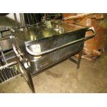 Groen Mdl.E-4-9 Natural Gas Fired Tilt Skillet/Braising Pan w/water attachment, 120 volts