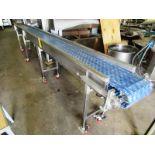 """Portable Conveyor, 12"""" W x 16' L Plastic Belt, 3/4 h.p., 460 volts"""