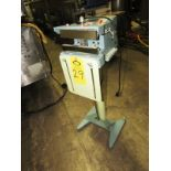 TEW Electric Heating Equipment Mdl. THS-200 Heat Sealer, foot pedal activation, digital heater
