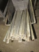 """Lot of (30) Aluminum """"Star"""" Shape, (1) Stainless Bell Shape, (7) Stainless Steel Rods, 42"""" L Smoke"""