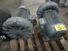 Fuji Regenerative B Lower/Ring Compressor, 20 h.p., 220/440 volts, 3 phase