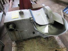Hobart Mdl. 84186 Table Top Buffalo Chopper Food Processor, 15 Lb. capacity, 1 h.p., 115 volts