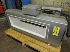 """Mettler Toledo/Safeline Metal Detector Aperture, 9 3/4"""" H X 35 1/2"""" W, 24"""" H X 55"""" W overall"""