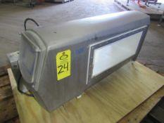 """Mettler Toledo/Safeline Metal Detector Aperture, 7 3/4"""" H X 19 3/4"""" W, 22"""" H X 42"""" W overall"""