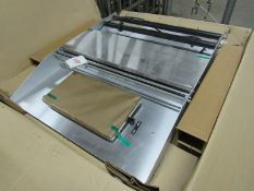 """Heat & Seal Mdl. 600A-24 Table Top Hot Plate Overwrapper, 28"""" W X 34"""" L overall, 6"""" X 15"""" hot plate,"""