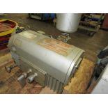 Busch Mdl. RC0250 Vacuum Pump, 10 h.p., 230/460 volt, 3 phase motor, Ser. #02341