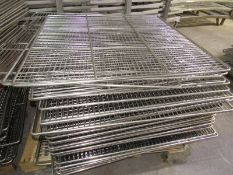 """Stainless Steel Smoke Screens, 41 3/4 """" W X 41 3/4"""" L (Located in Plano, IL - Loading Fee: $50"""