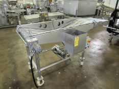 """Heat & Control Mdl. 3A-3-24 Portable Stainless Steel Batter Applicator, 24"""" W X 90"""" L ladder chain"""