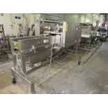 """Urschel Mdl. J9A Portable Dicer/Slicer, 10"""" W infeed, 5 h.p., 230/460 volts, stainless steel motor"""