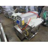 "Mettler Toledo Safeline Mdl. RECT V3 SS 100/300 Metal Detector, 6"" T X 19 3/4"" W aperture, 18"" W X"