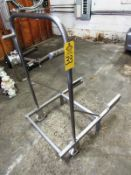 """Stainless Steel Portable Buggy Cart, 29"""" W X 44"""" L (Located in Plano, IL - Loading Fee: $10"""