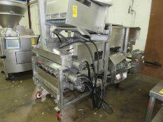 "Stein Mdl. XL-24 Breading Applicator, 24"" W X 108"" L stainless steel belt, 64"" T stainless steel"