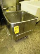 Stainless Steel Koch Dump Buggy, 400 Lb. capacity (missing 1 wheel) (Located in Plano, IL -