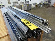 "Stainless Steel Smokesticks, bell shape, 42"" long"