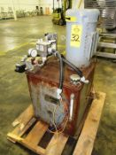 Parker Mdl. H38-INOP0/13 Hydraulic Power Pack, 30 gallon capacity, 10 h.p., 208-230/460 volts, 3