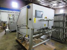 Marel Mdl. ICUT 22 Portioning Cutter, Ser. #E013793, 220 volts, 3 phase, touchscreen controls