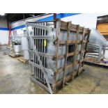 """Stainless Steel Vented Exhaust, 6' W X 6' L X 4' T, 18"""" W X 24"""" L hole with blower, (never used)"""