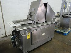 """Ross Mdl. TC700M Portable Tenderizer, missing head, 220 volts, 12"""" wide conveyor"""