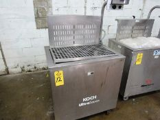 Koch Mdl. US2818 Portable Stainless Steel Dip Tank, 208 volts, 3 phase