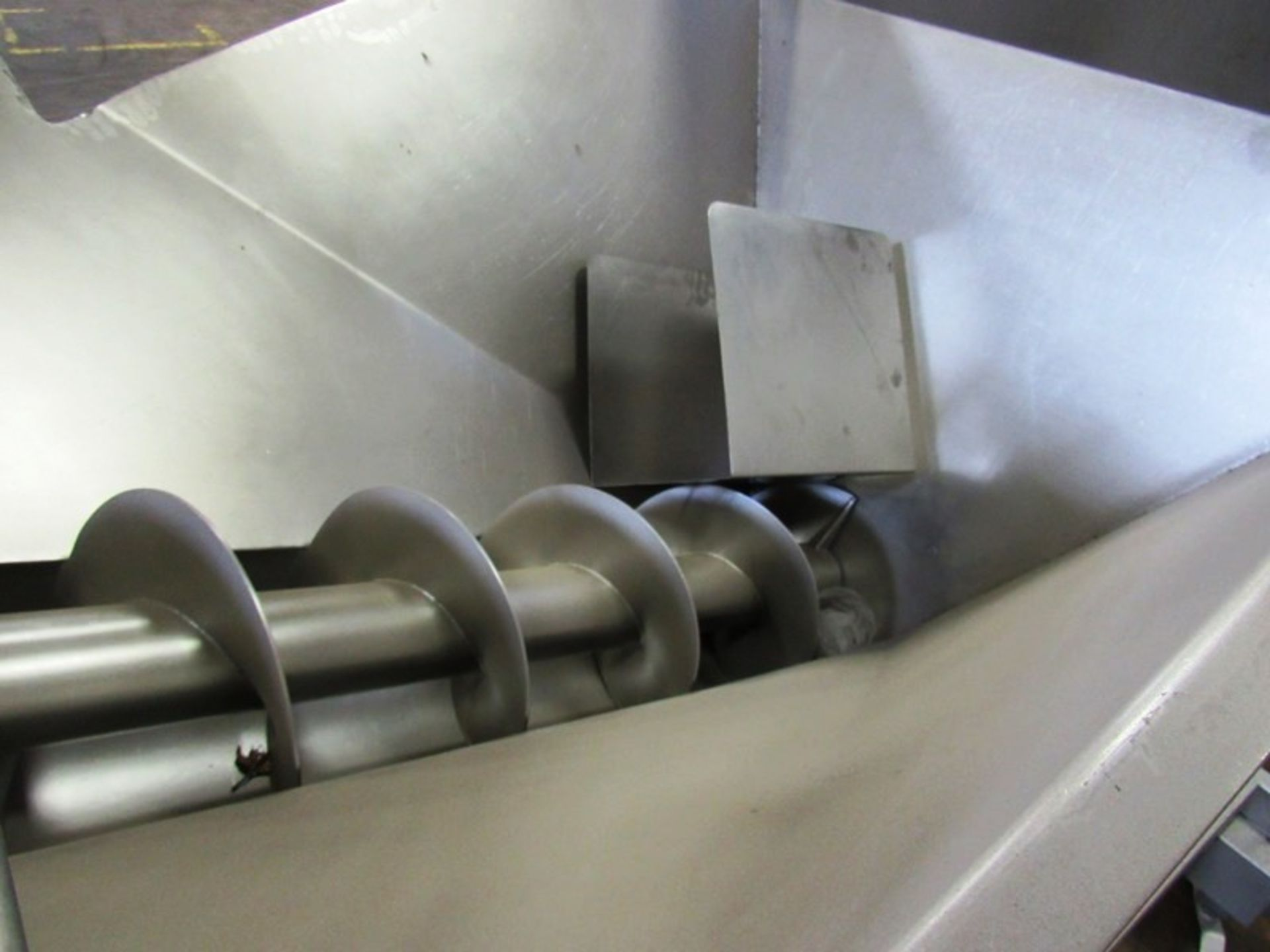 """Stainless Steel Screw Loader, 16"""" Dia. X 8' L stainless steel screw, 5' W X 5' L load hopper, 15 h. - Image 5 of 7"""