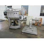 CFS Mdl. Combi Grind 1000 Stainless Steel Mixer/Grinder, dual agitation paddles, bottom injected CO2