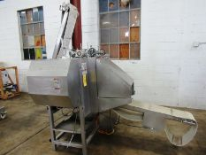 Baader Johnson Mdl. SL501 Portioning Cutter, Ser. #M-PCS9-704/144, water 4.0 GPM, 440 volts