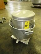 """Greenheck Mdl. Cube-121-LMDG-AD Stainless Steel Rooftop Exhaust, 24"""" Dia., 19 1/2"""" base, Ser. #"""