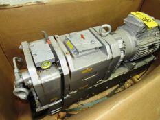 Busch Mdl. CB0220D Vacuum Pump, 9.2 KW Lafert Motor, Ser. #130051869