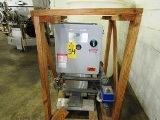 Carbo Tech Inc. Mdl. CT15KWC Carbon Dioxide Vaporizer, Ser. #28300-75, 230/460 volts, 3 phase