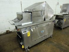 """Ross Mdl. TC700M Portable Tenderizer, missing needles, 220 volts, 12"""" wide conveyor"""